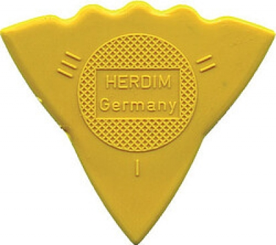 Pick, Herdim gelb, Vario-Dreieck: soft-medium-hard