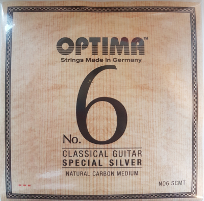 Optima No.6 Special Silver, SCMT, Carbon, medium