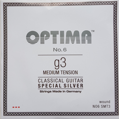 Optima No.6 Special Silver g/3 wound Einzelsaite medium