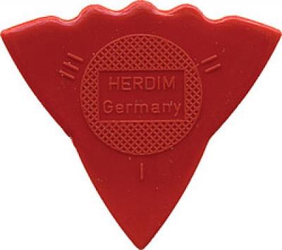 Pick, Herdim rot, Vario-Dreieck: soft-medium-hard