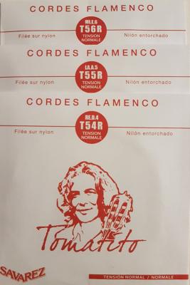 Savarez Tomatito Flamenco T50R-Bass normal