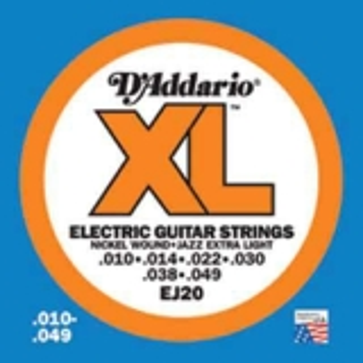 DAddario XL Nickel Round Wound-EJ20, .010-.049 extra light