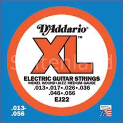 DAddario XL Nickel Round Wound-EJ22, .013-.056 medium