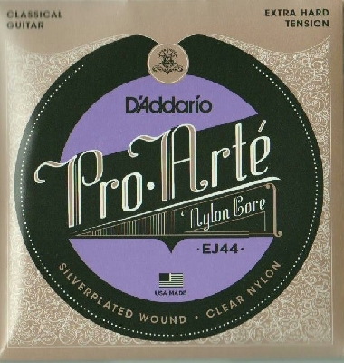 DAddario-EJ44 Pro Arte Classical Guitar, extra hard