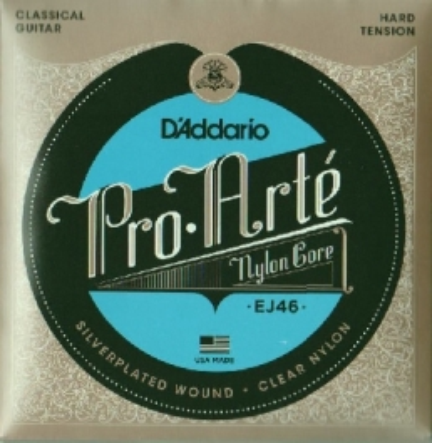 DAddario-EJ46 Pro Arte Classical Guitar, hard