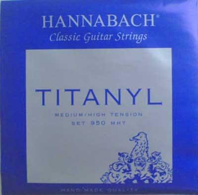 Hannabach Titanyl-950MHT, präzisionsrund, longlife, normal-hard