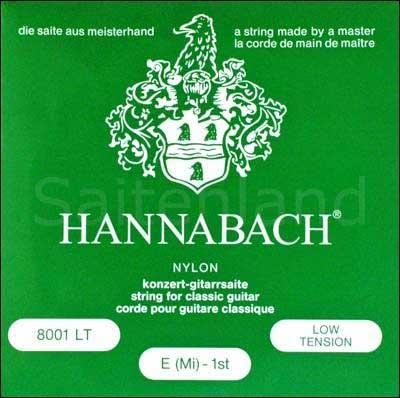 Hannabach versilbert 800LT