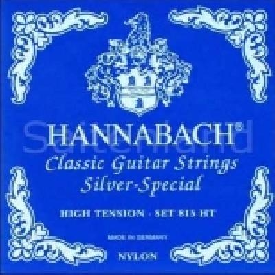 Hannabach Diskant-Satz Silver Special-8158HT, präzisionsrund hard