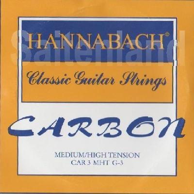 Hannabach Car8 g3 Einzelsaite Carbon