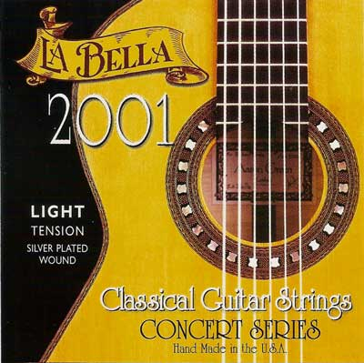 La Bella Classical Guitar Strings -2001L