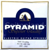 Pyramid 12-Saitig Superior-Quality Pure Nickel 420100, .009-.042w light