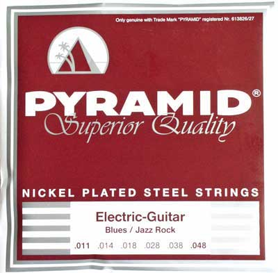 Pyramid Blues/Jazz Rock Nickel Plated Steel 433 100, .011-.048w medium-heavy
