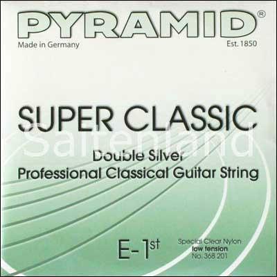 Pyramid Super Classic Double Silver Nylon 368200, light