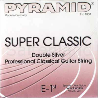 Pyramid Super Classic Double Silver Nylon