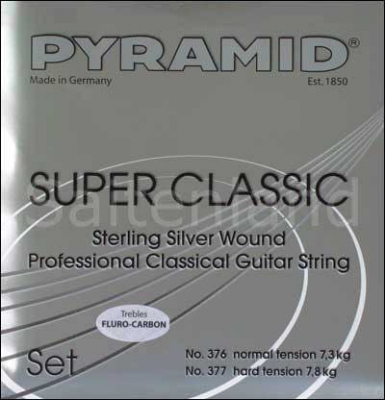 Pyramid Super Classic Sterling Silver Carbon C376200 + C377200