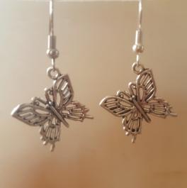 Ohrringchen Schmetterling Silber