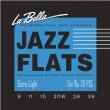 La Bella Jazz Flats Flatwound Stainless Steel  20PM, .013-.053 medium