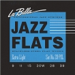 La Bella Jazz Flats Flatwound Stainless Steel 20PXL, .009-.039 Extra Light