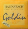 Hannabach Bass-Satz Goldin-7257MHT, nickel-cadmiumfrei normal-hard