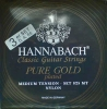 Hannabach Bass-Satz Pure Gold-8257MT, vergoldet normal