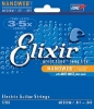 Elixir Electric Guitar Strings Nanoweb 12102, .011-.049 medium