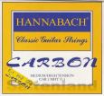 Hannabach Diskant-Satz-Car8MHT, Carbon normal-hard