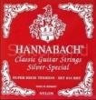 Hannabach Diskant-Satz Silver Special-8158SHT, präzisionsrund extra hard
