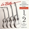 La Bella Nylon Classical Kinder Guitar Modell 1/2, Mensur 52-53 korrosionsgeschützt normal