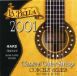 La Bella Classical Guitar Strings-2001H, Monofilament hard