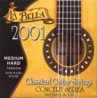La Bella Classical Guitar Strings-2001MH, Monofilament normal-hard