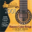 La Bella Flamenco Guitar Strings-2001HT, schwarzer Monofilament hard