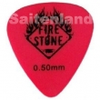 Pick Fire&Stone Delrin rot 0,50 mm extra soft