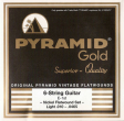 Pyramid Gold Original Vintage Flatwounds 310 100, .010-.0465w light