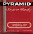 Pyramid Akustik Gitarre 306100, .011-.050w light-medium
